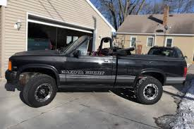 4x4 Ragtop: 1989 Dodge Dakota Convertible