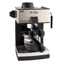 Mr CoffeeR Steam Espresso And Cappuccino Maker