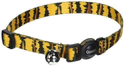 "Coastal Pet Products Adjustable Safe Cat Breakaway Collar - Tiger, 3/8"" x 8-12"""