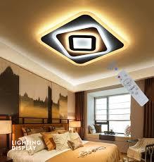 moderne led deckenleuchte wohnzimmer schlafzimmer acryl