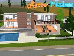 The Retro Home Plans by Mod The Sims Retro Modern