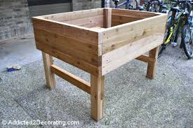 Stylish Elevated Raised Bed Garden Plans How To Build An Elevated