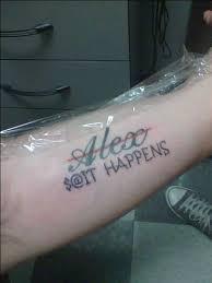 31 Boyfriend Friend Name Tattoos Inspirationseek Com Forearm