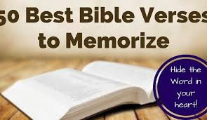 50 Most Important Bible Verses To Memorize