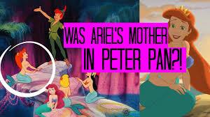 IS ARIELS MOTHER IN PETER PAN