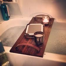 diy bathtub caddy with reading rack 15 bathtub tray design ideas for the bath enthusiasts among us