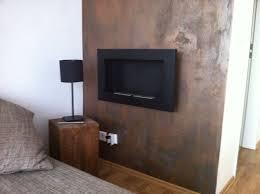 rost wand wall diy wandfarbe wohnzimmer friseursalon
