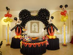 Mickey Mouse Theme party decorationand Mickey entertainment Kids