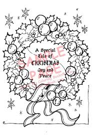 Tale Of Christmas Joy And Peace Coloring Books