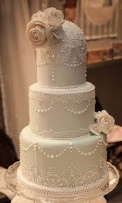 If I Had A Dream Wedding Vintage Lace And Roses Cake