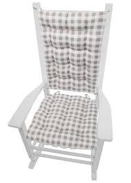 Classic Check Taupe Plaid Rocking Chair Cushions In 2019 ... Aztec Print Rocking Chair Cushions Outdoor Bench Cushion Garden Pillow Plow Hearth Classic With Ties Qvccom Storkcraft Hoop Glider And Ottoman Set Vine Pattern Kids Baby Store Crate Barrel Gripper Saturn Celadon Jumbo Girl Nautica Crib Bedding 100 Must Meet In Locust Grove Chevron Sun Lounger Replacement Suede Seat Padded Recliner Pads Removable Chairs For Children High Chair Baby Design How Much Fabric Do You Need A Project Martha Stewart