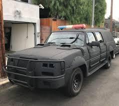100 Swat Team Truck POLICE CAR SWAT TEAM Screen Used Hero Jet Li PROP Futuristic Movie