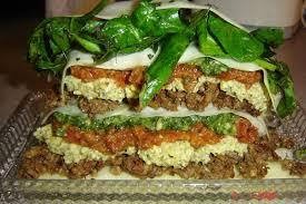 cuisine crue succulente lasagne au pesto alimentation crue et vivante