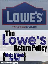 lowe s return policy cut through the crap here s exactly how it