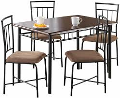 Espresso 5-Pcs Dining Set 4-Chairs Sturdy Steel Rectangular Table W/ Wood  Top Piece Ding Set Light Chairs Red And Table Wicker Rooms Cream Upholstered Padded Kitchen With Amazoncom Solid Oak Room Of 2 Sturdy 7 Woodespresso Fniture What Is The Best Place To Buy Cheap But Sturdy Fniture Wooden Kids And Eertainment Chairs White Mcmola Case 50kitchen Side Better Homes Gardens Maddox Crossing Chair Brown Details About Of Wood Black Traditional Wing Back Ash Barley Velvet Fabric Parson Room Table 4 In Ch5 4wl Connahs Quay For