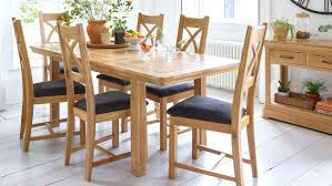 Extendable Wooden Dining Table Oak Extending Tables Solid And Chairs Argos