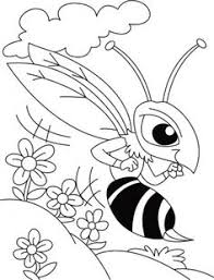 In Flower Rush Mosquito Blush Coloring Pages