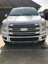 Defenderworx F-150 Ford Oval Grille Emblem - Gloss White 901487 (15 ... Ford Emblems F150 Sport Roush Logo Chrome Black Red Fender Trunk Emblem Amazoncom Qualitykeylessplus Truck Oval Front Grill 52018 Blackout Lettering Overlay Badge Set S3m Hand Crafted Dont Tread On Me Custom Grille For Super 2016 Used 2002 For Sale Recon Part 264282rdbk 0914 Illuminated Red Led Order From Salmoodybluedesignscom 2013 Tailgate Blem 52017 Lariat Oem 2015 Painted F150 Blems Forum Community Of