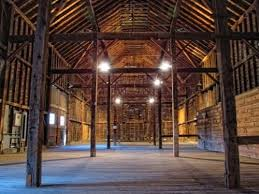 An Inside View Of The Barn At Shaker Heritage Society In Colonie NY A Great Place For Rustic Wedding