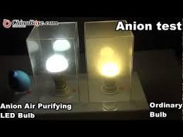 e27 90 260v 7w white light 6000 6500k anion air purifying led bulb