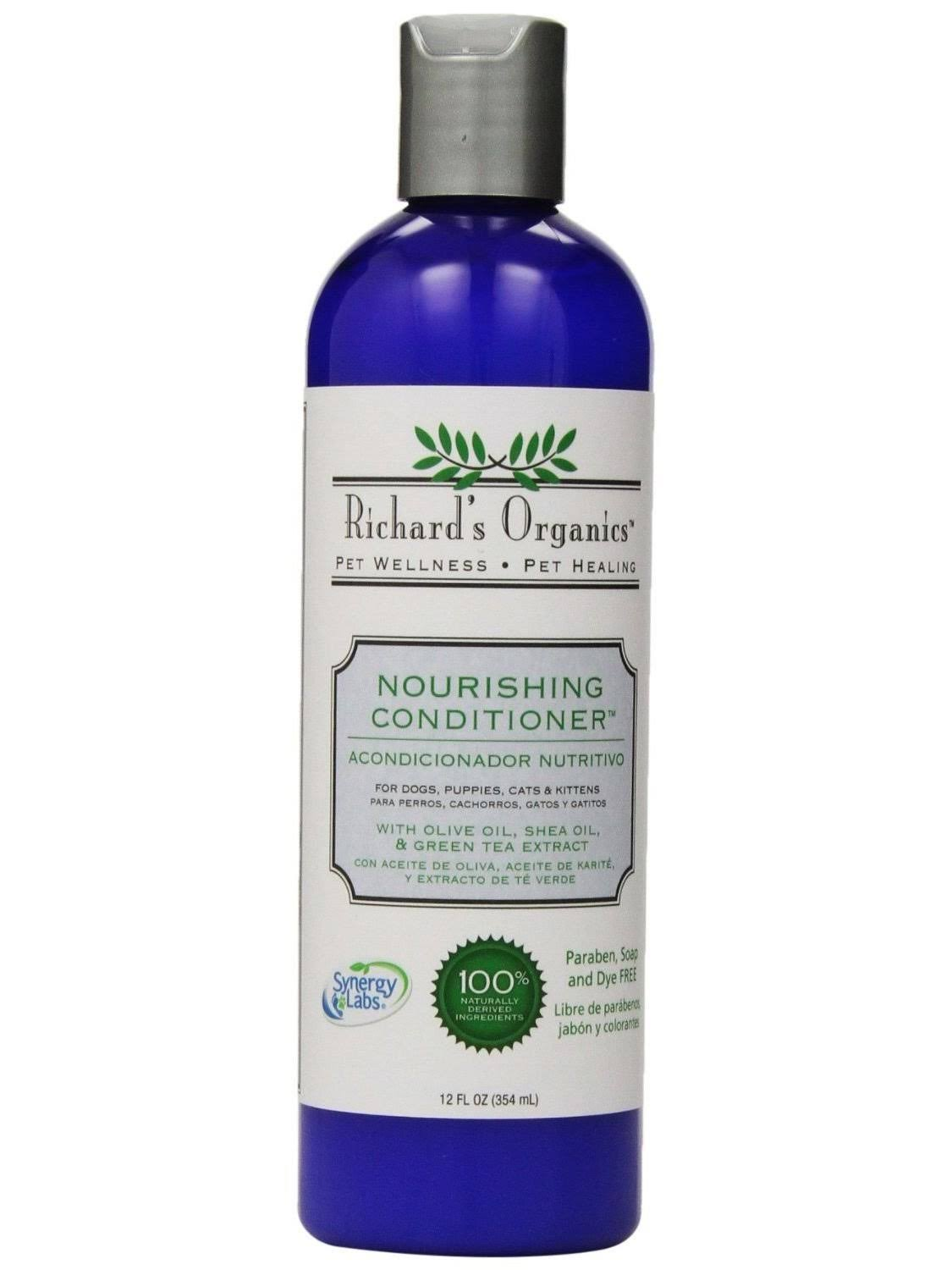 Synergy Labs Richards' Organics Nourishing Conditioner - 12 oz