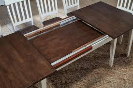 Table Leaf Extension Solid Wood To Long Versa Choose Hardware Drop Console Is Best Tables Dining