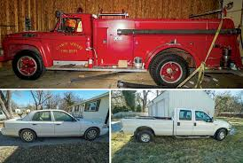 100 Ford Fire Truck 4401 W 3rd St N Wichita KS McCurdy Auction Real Estate Specialists