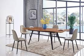 ESF 93-DT 350-DC Dining Table Set 5Pcs European Collection ...