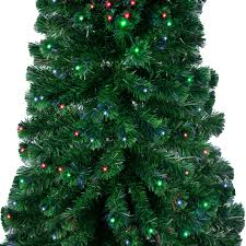 Pre Lit Slim Christmas Tree Led by Fiber Optic Christmas Tree Lights Christmas Lights Decoration