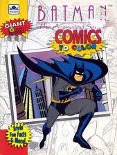 Batman Coloring Book RARE UNUSED