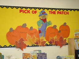 Kindergarten Pumpkin Patch Bulletin Board by This Is A Great Example Of A Possible Bulletin Board For Our Unit