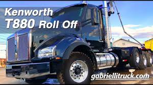 100 Rolloff Truck For Sale New Kenworth T880 Tri Axle Roll Off T880 ROLL OFF
