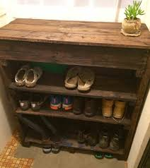 Projetoparaguai S Pallet Ideas Shoe Rack Repurposed Merry Garden Acacia Tier Outdoor And Cubby