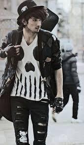 Grunge Styleclothingmens Fashion1950s Fashionunique Vintagegrunge Clothing