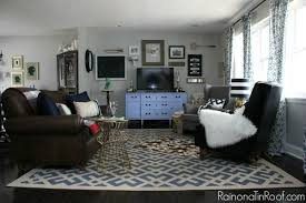 Vintage Modern Rustic Living Room Via RainonaTinRoof