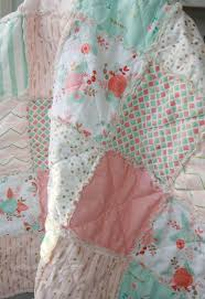 Shabby Chic Nursery Bedding by Crib Rag Quilt Baby Crib Bedding Nursery Gold By Justluved