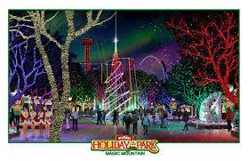 Santa Cruz Summit Christmas Tree Farm by Six Flags Magic Mountain Holiday In The Park California Coaster