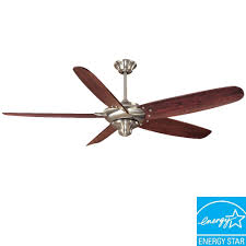 Brushed Nickel Ceiling Fan Blades by Home Decorators Collection Altura 68 In Brushed Nickel Ceiling