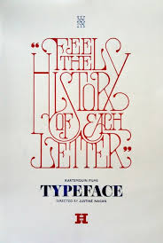 deco typography history history of each letter brand font type history