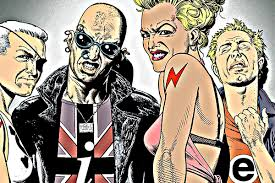 100 Andrew Morrison Artist Grant S The Invisibles And The 90s Culture Wars