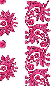 Interior Handwork Saree Daman Embroidery Design Practical Designs Hand Work Genuine 7