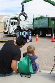Las Cruces Utilities Shows Big Trucks To Kids | KRWG