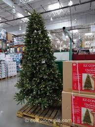 Ez Connect 9Ft Pre Lit Led Christmas Tree With 9 Ft