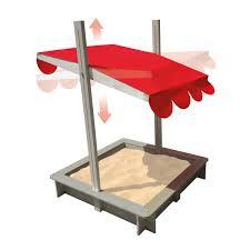 bac a avec toit bac à toit orientable pour enfant dès 3 ans oxybul éveil
