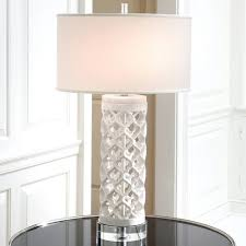 Small Fillable Glass Table Lamp by Table Lamps Fillable Clear Glass Table Lamp Classic Family Room