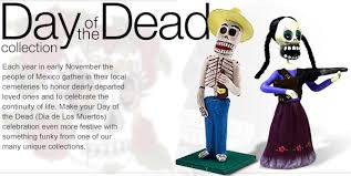 mexican folk day of the dead tile figure shirt lights