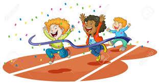 Running Race Clipart 25