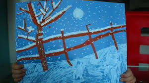 How To Draw A Beautiful Winter Scene With Crafty Croc LIQUID CHALK Markers Super Simple