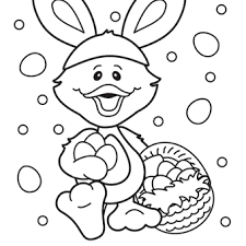 Free Easter Coloring Pages 12