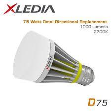 xledia d75l 75 watt equal a19 led for fully enclosed fixtures